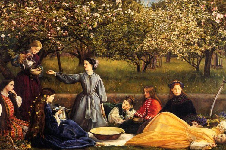 Дж. Миллес. Яблоневый цвет. 1859