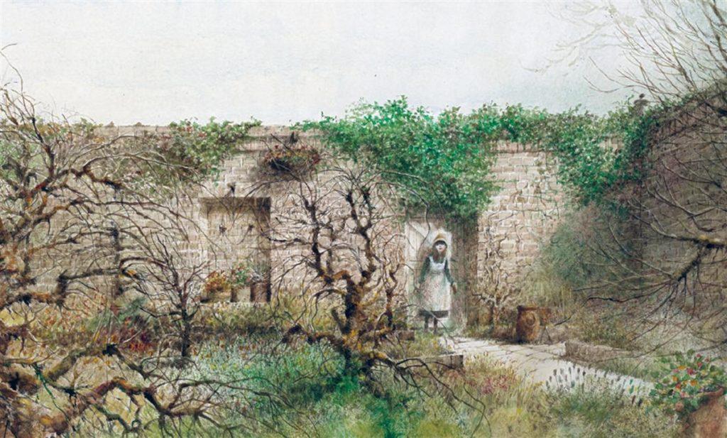 """Роберт Ингпен. Иллюстрация к книге Френсис Бернетт """"Таинственный сад"""""""