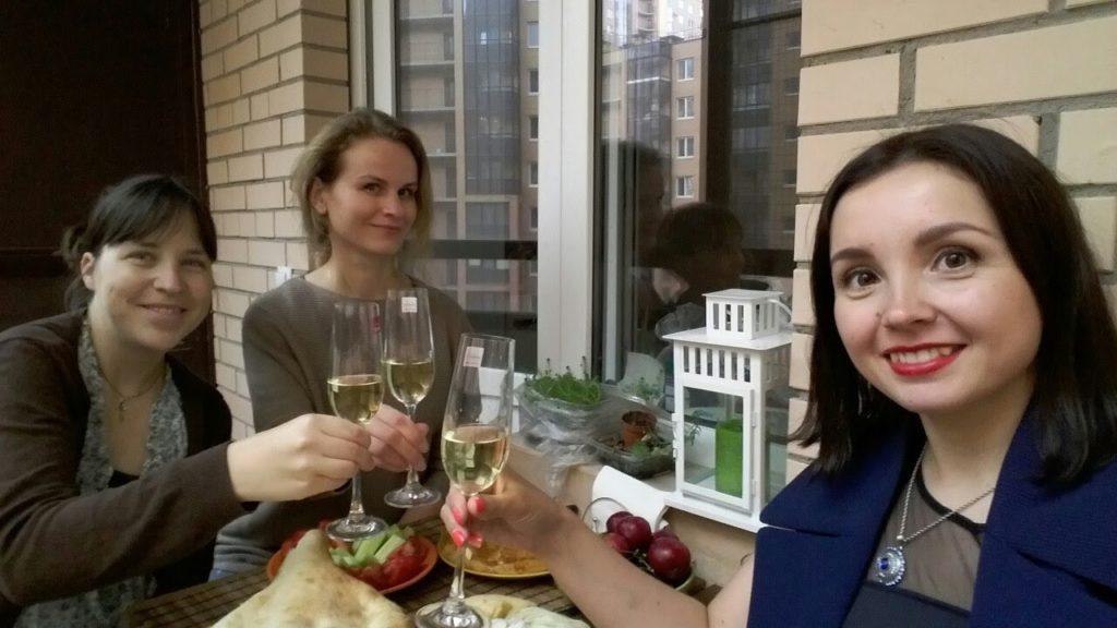 Балконная вечеринка