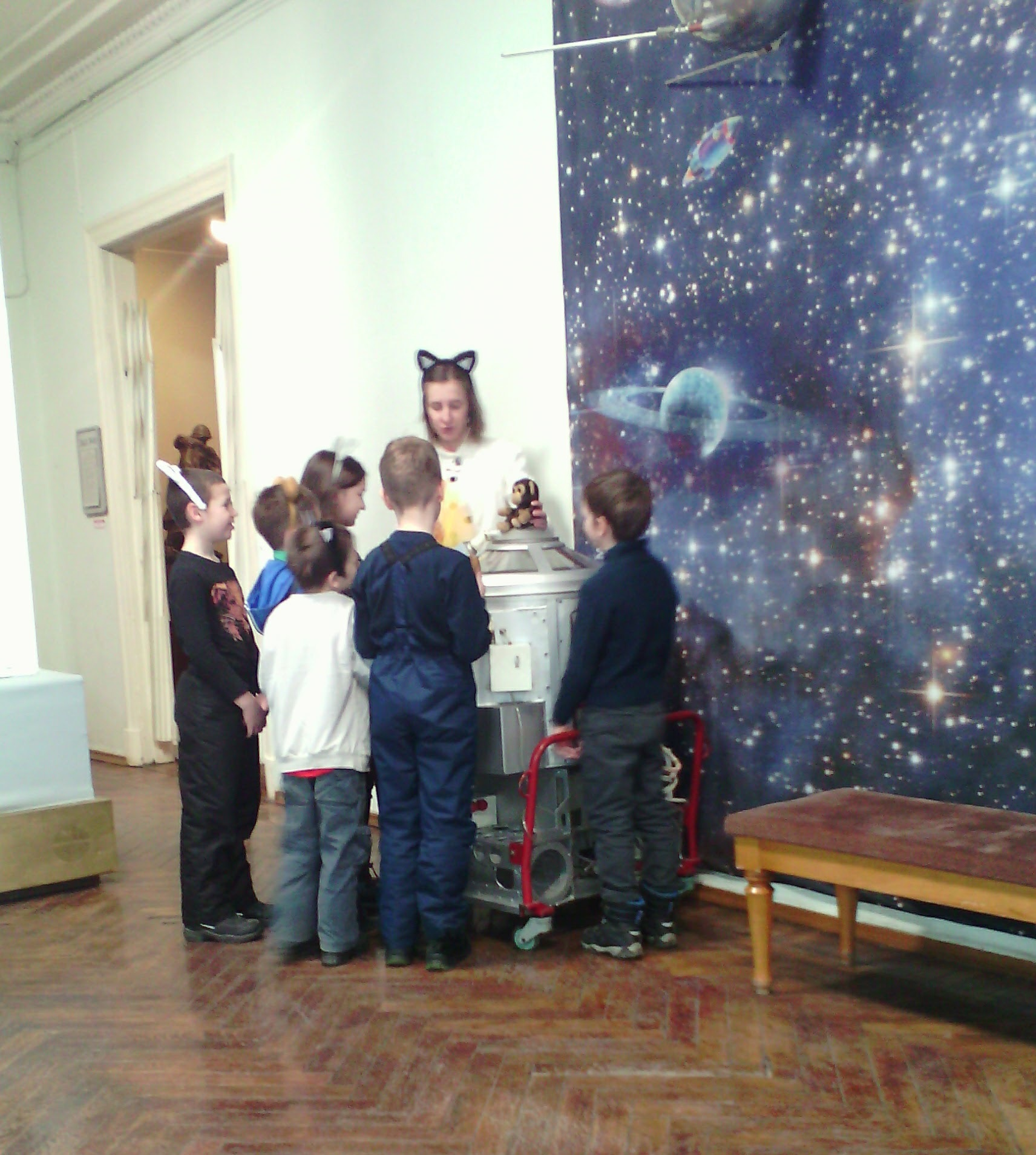 Тим в музее