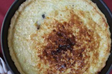 Тарт с чесноком-культурный очаг